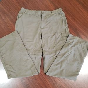 Columbia Omni Shade Zip Off Pants